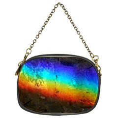 Rainbow Color Prism Colors Chain Purses (one Side)
