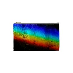 Rainbow Color Prism Colors Cosmetic Bag (small)