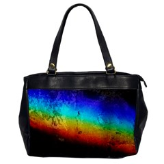Rainbow Color Prism Colors Office Handbags
