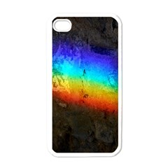 Rainbow Color Prism Colors Apple Iphone 4 Case (white)
