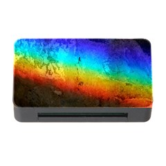 Rainbow Color Prism Colors Memory Card Reader With Cf