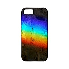 Rainbow Color Prism Colors Apple Iphone 5 Classic Hardshell Case (pc+silicone)