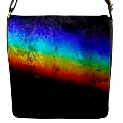 Rainbow Color Prism Colors Flap Messenger Bag (s)