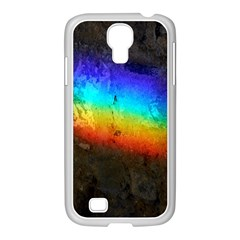 Rainbow Color Prism Colors Samsung Galaxy S4 I9500/ I9505 Case (white)