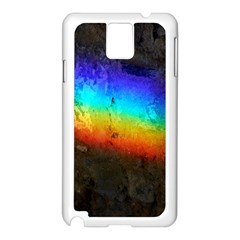 Rainbow Color Prism Colors Samsung Galaxy Note 3 N9005 Case (white)