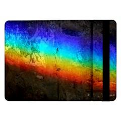 Rainbow Color Prism Colors Samsung Galaxy Tab Pro 12 2  Flip Case