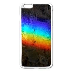Rainbow Color Prism Colors Apple Iphone 6 Plus/6s Plus Enamel White Case