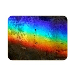 Rainbow Color Prism Colors Double Sided Flano Blanket (mini)