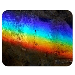 Rainbow Color Prism Colors Double Sided Flano Blanket (medium)