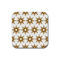 Seamless Repeating Tiling Tileable Rubber Square Coaster (4 pack)