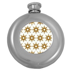 Seamless Repeating Tiling Tileable Round Hip Flask (5 Oz)