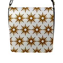 Seamless Repeating Tiling Tileable Flap Messenger Bag (l)