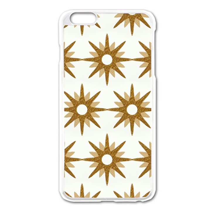 Seamless Repeating Tiling Tileable Apple iPhone 6 Plus/6S Plus Enamel White Case