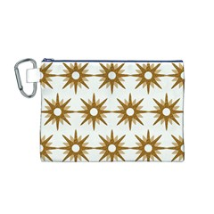 Seamless Repeating Tiling Tileable Canvas Cosmetic Bag (m)