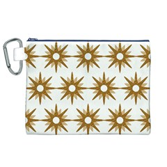 Seamless Repeating Tiling Tileable Canvas Cosmetic Bag (xl)