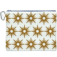 Seamless Repeating Tiling Tileable Canvas Cosmetic Bag (xxxl)
