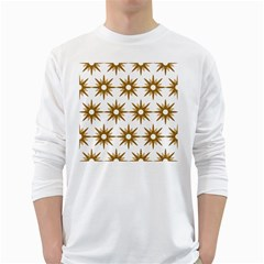 Seamless Repeating Tiling Tileable White Long Sleeve T Shirts