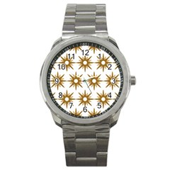 Seamless Repeating Tiling Tileable Sport Metal Watch