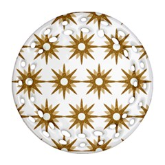Seamless Repeating Tiling Tileable Ornament (round Filigree)