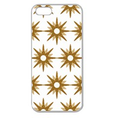 Seamless Repeating Tiling Tileable Apple Seamless Iphone 5 Case (clear)