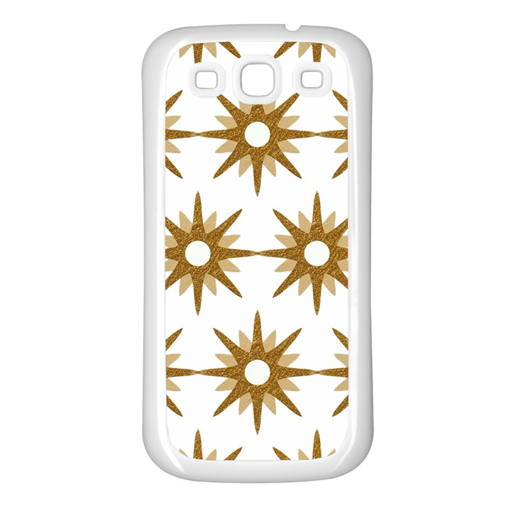 Seamless Repeating Tiling Tileable Samsung Galaxy S3 Back Case (White)