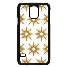 Seamless Repeating Tiling Tileable Samsung Galaxy S5 Case (black)