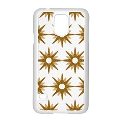Seamless Repeating Tiling Tileable Samsung Galaxy S5 Case (white)