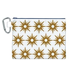 Seamless Repeating Tiling Tileable Canvas Cosmetic Bag (l)