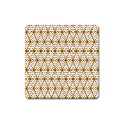 Seamless Wallpaper Background Square Magnet