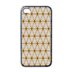 Seamless Wallpaper Background Apple Iphone 4 Case (black)