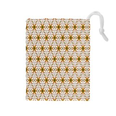 Seamless Wallpaper Background Drawstring Pouches (large)