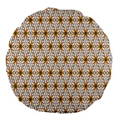 Seamless Wallpaper Background Large 18  Premium Flano Round Cushions