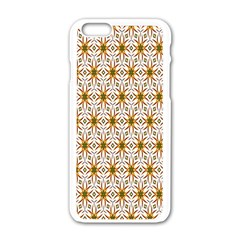 Seamless Wallpaper Background Apple Iphone 6/6s White Enamel Case