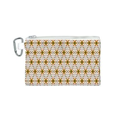 Seamless Wallpaper Background Canvas Cosmetic Bag (s)