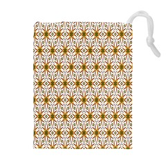 Seamless Wallpaper Background Drawstring Pouches (extra Large)