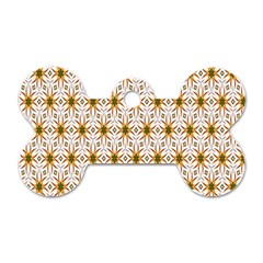 Seamless Wallpaper Background Dog Tag Bone (two Sides)
