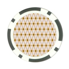 Seamless Wallpaper Background Poker Chip Card Guard (10 Pack)