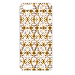 Seamless Wallpaper Background Apple Iphone 5 Seamless Case (white)