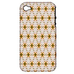 Seamless Wallpaper Background Apple Iphone 4/4s Hardshell Case (pc+silicone)