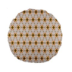 Seamless Wallpaper Background Standard 15  Premium Round Cushions