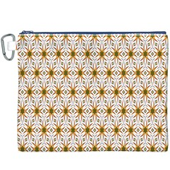 Seamless Wallpaper Background Canvas Cosmetic Bag (xxxl)