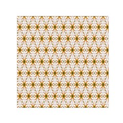Seamless Wallpaper Background Small Satin Scarf (square)