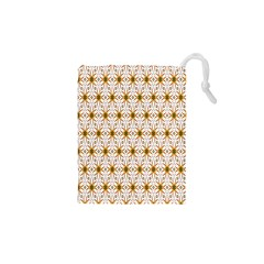 Seamless Wallpaper Background Drawstring Pouches (xs)