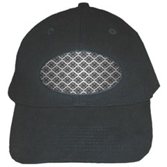 Silver The Background Black Cap