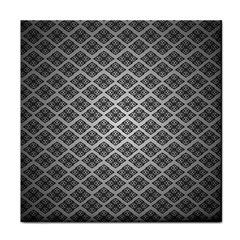 Silver The Background Tile Coasters