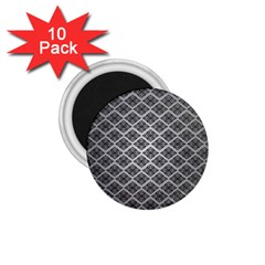 Silver The Background 1.75  Magnets (10 pack)