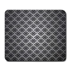 Silver The Background Large Mousepads