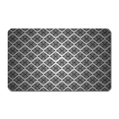 Silver The Background Magnet (rectangular)