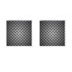 Silver The Background Cufflinks (square)