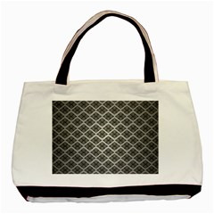 Silver The Background Basic Tote Bag